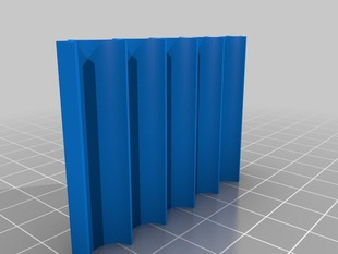 Organizer thingy for blackboard chalk or anything else cylindrical