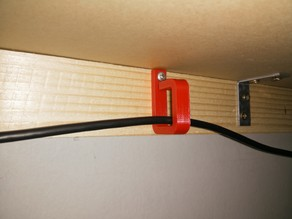 Simple cable hook