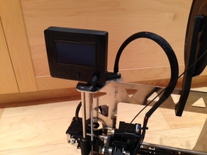 Prusa I3 Steel bracket for the full graphics display