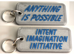 Motivational Keyfob