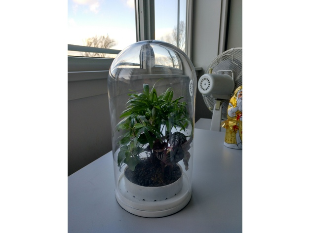 14cm Ikea Dome Terrarium By Blkhawk Thingiverse