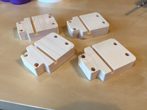 Caster adapters for Like-it modular drawer system