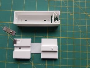 18650 Battery case/holder and nickel straps stamper