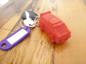 Rocket League Car Keyring