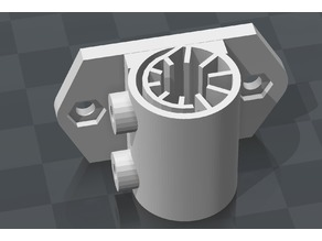 Adjustable Y Axis Linear Bushing / Mount