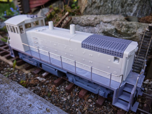 openrailway emd sw1500 1 32 locomotive by barspin thingiverse rh thingiverse com EMD SW1500 Locomotive EMD SW1500 Locomotive Radiator