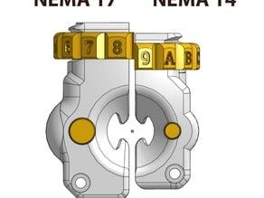 Saintflint Extruder - NEMA 14 Edition