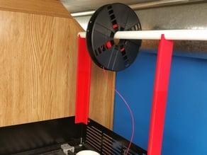 MakerBot Replicator Z18 Overhead Spool Mount