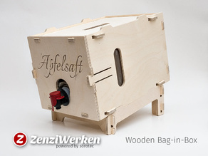 Wooden Bag-in-Box cnc
