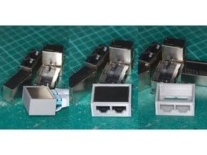 dummy - connector-RJ45_2X1_PCBmount