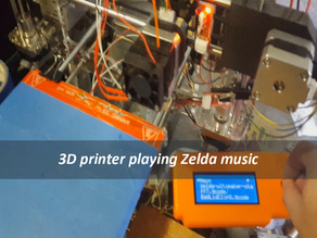 making music after every print