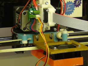 Mounting the E3D v6 on a Mendel90 (bowden version)