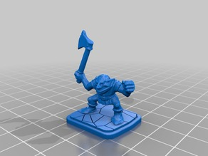 HeroQuest Gobln with Axe
