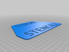 Custom Multiline Stencil - Parametric