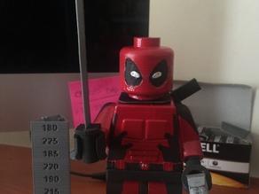 Deadpool Jumbo Lego Mini-Fig