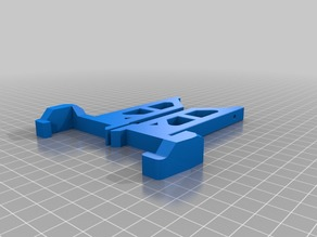 Bear Upgrade Prusa MMU2 Horizontal Mounting Brackets