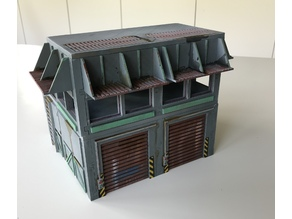 Tabletop Building for 32 mm SciFi