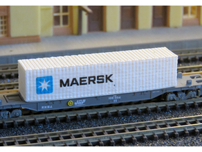 40 feet container Scale 1:220 Z