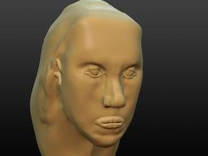 Generic Starter Face (For sculpting)