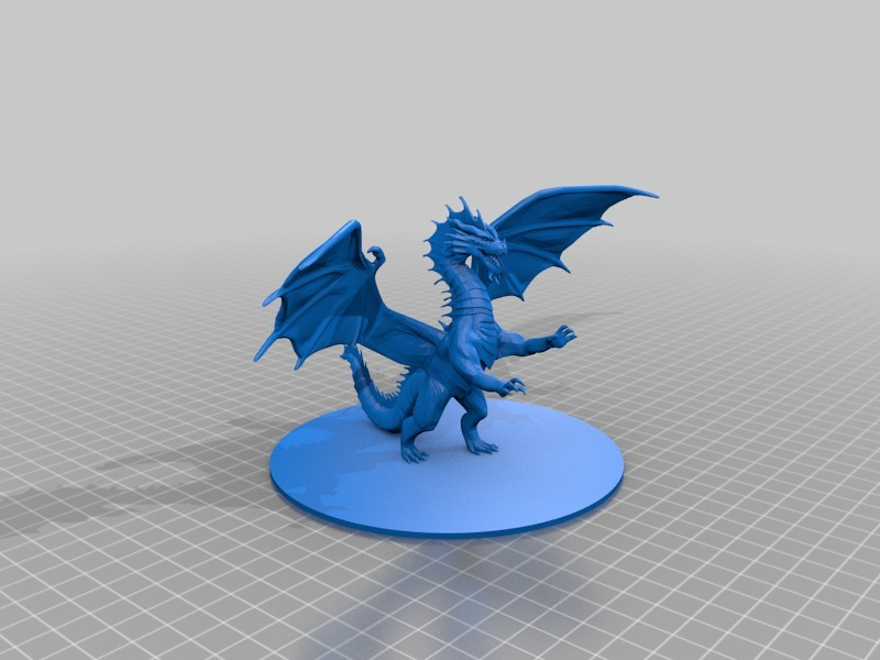 Red Dragon by mz4250 - Thingiverse