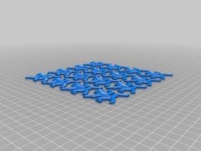 4x4 Escher Lizard