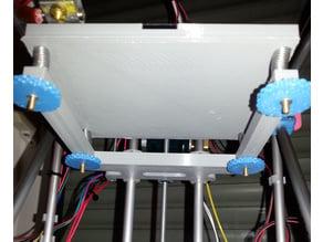MicroCube redesigned Build Platform / Bed Mount