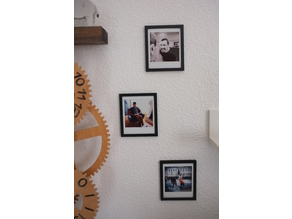 Photo frame for fuji square instant camera