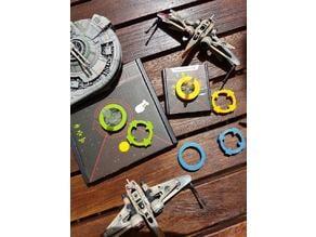 Target Lock and ship idenifier (X-Wing TMG)