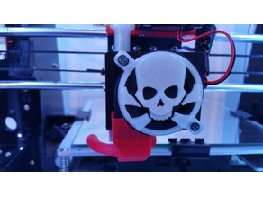 Anet A8 Skull Fan Cover