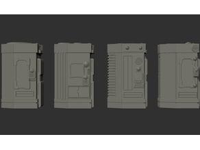 Type 6 Vending Machines. (Medical, 4 Models)