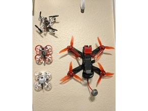 Mini quad wall mount