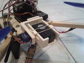 Servo Gimbal for the Moebius Action Cam
