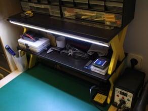 Desk Shelving (Ikea Hack)