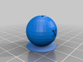 XYZ 20mm Calibration Sphere