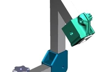 3D printed Nodalpunktadapter / no paralaxe camera