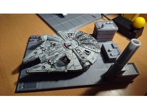 Star Wars X-Wing LANDING PAD for Millenium Falcon