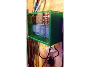 4 channel relay board case / box