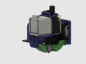 Support direct drive Extrudeur Titan Ender3/CR10 pour tête AIO EVO et touch-mi