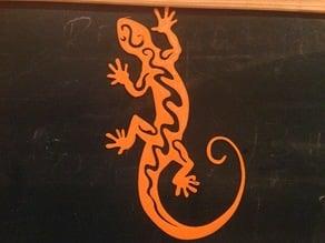 Tribal Lizard #2
