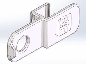"3FPD-Headphone Clip-3/4"" Surface"