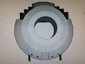 UFO Spaceship Dual Extrusion