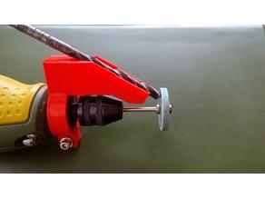 Drill bit sharpener for 20mm PROXXON tool