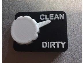Dishwash indicator