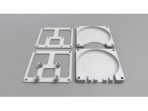 80mm Fan Kit for Monoprice Ultimate & Wanhao Duplicator 6