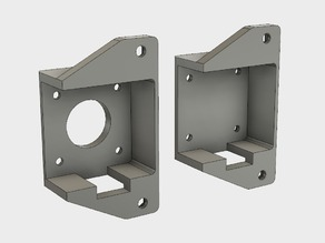 X Axis Dual Damper Mount for CR-10/CR-10S