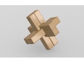 6 Piece Cross Puzzle