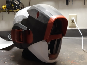 Destiny inspired helmet