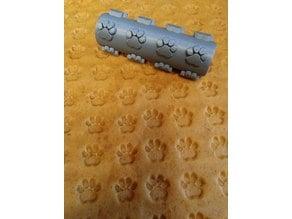 Dog Biscuit Roller - Paw Print Design