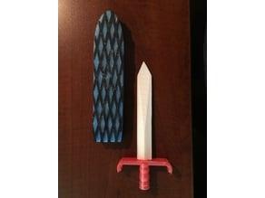 Broad Sword Letter Opener