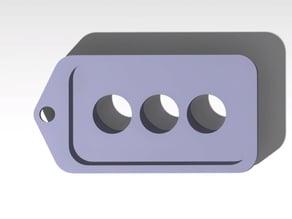 Idle Hands Project Logo Keychain - Logo to my website - #printaday